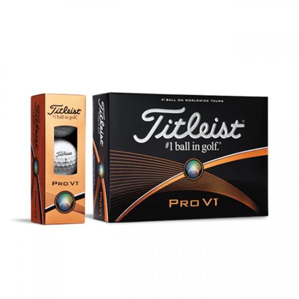 Balles de golf Titleist Pro V1 personnalisées Impression sur balles de golf
